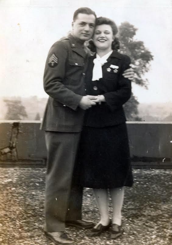 Norman Duncan with his wife, Elsie Sheldon Duncan, in the 40s.